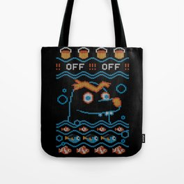 Gerald Ugly Sweater Tote Bag