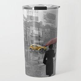 Vintage New York Montage Travel Mug