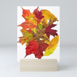 Autumn Fall Leaves Foliage Art Mini Art Print