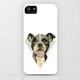 Puppy Eyes 2 iPhone Case
