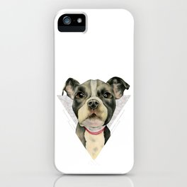 Puppy Eyes 2 iPhone Case