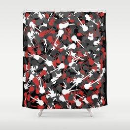 Guitarmouflage - Pick up stix Shower Curtain