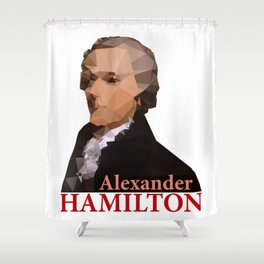 Alexander Hamilton, Triangulated Shower Curtain