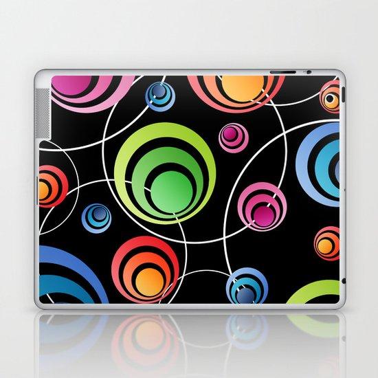 Circles In Circles. Laptop & iPad Skin