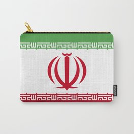 Iran flag emblem Carry-All Pouch