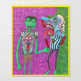 Rad Dadz Canvas Print
