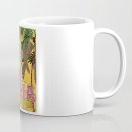 india elephant vintage travel poster Coffee Mug