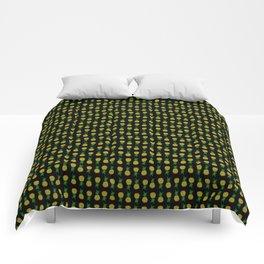 Pineapple Attack Comforters