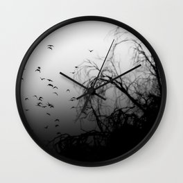 Into The Darkness 3 Wall Clock