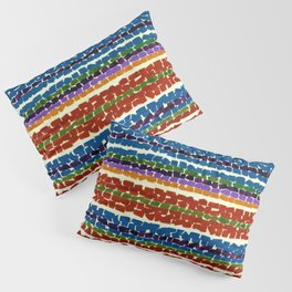 African American Masterpiece 'Light Blue Nursery'' by Alma Thomas Pillow Sham