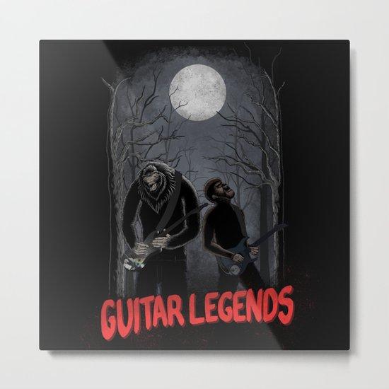 Guitar Legends Metal Print