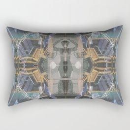 The Space Excavation Terror Rectangular Pillow