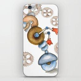 Vroom Vroom Robot  iPhone Skin