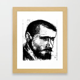 Portait2 Framed Art Print