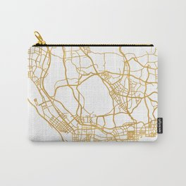 SHENZHEN CHINA CITY STREET MAP ART Carry-All Pouch