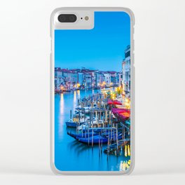 VENICE 05 Clear iPhone Case
