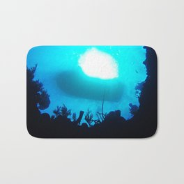 Underwater in Grand Cayman Bath Mat