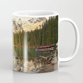 Calm Moraine Lake Coffee Mug