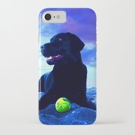 Ziggy Black Labrador iPhone Case