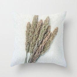 Summer Grass III Throw Pillow