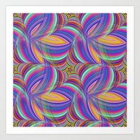 psychedelic Art Prints featuring Psychedelic by David Zydd