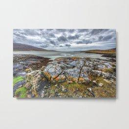 Seilebost, Isle of Harris Metal Print