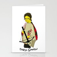 simpson Stationery Cards featuring Daryl Simpson by sara banu