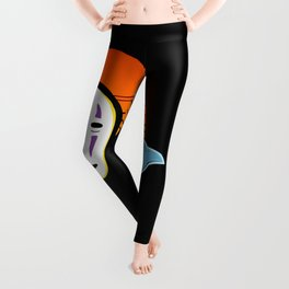 No Face a Lonely Spirit Leggings
