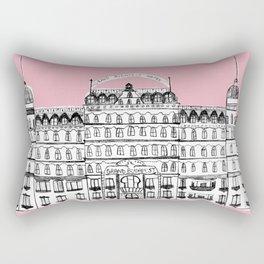 Budapest Hotel Rectangular Pillow