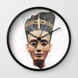 Nefertiti L Wall Clock