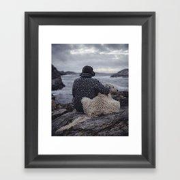 West Coast. Framed Art Print