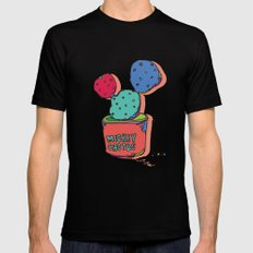 mickey cactus MEDIUM Black Mens Fitted Tee