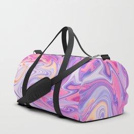 Elegant Marble 8 - Liquid Purple Duffle Bag