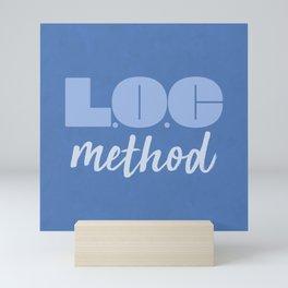 LOC Method [Blue] Mini Art Print