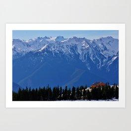 Hurricane Ridge Art Print