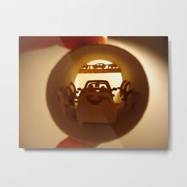 """Roll """"Traffic jam"""" (Rouleau """"Embouteillage"""") Metal Print"""