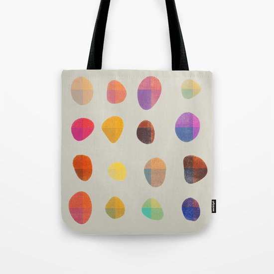 Painted Pebbles 4 Tote Bag