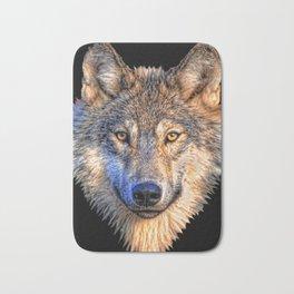 Midnight Wolf Bath Mat