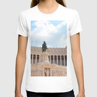rome T-shirts featuring Rome by Anya Kubilus