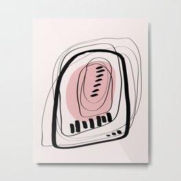 Modern minimal forms 11 Metal Print