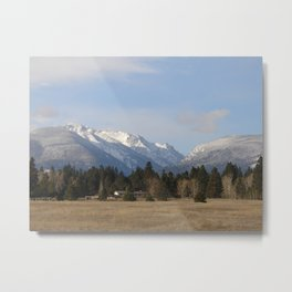 #406 bitterroot 406 b itterroot mt Metal Print