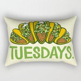 Taco Tuesdays Rectangular Pillow