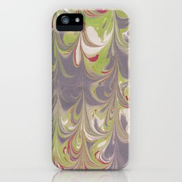 Marbled Pattern II iPhone Case