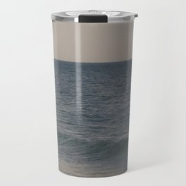 Breakers // Lake Michigan Waves Photography Travel Mug