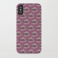 Shells on Pink Slim Case iPhone X