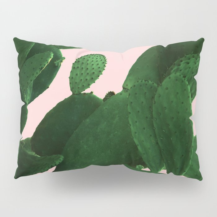 Cactus On Pink Pillow Sham