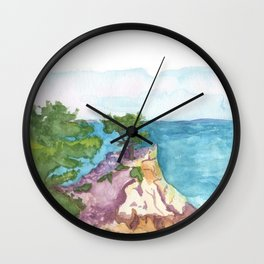 The Lone Cypress of Monterey Wall Clock