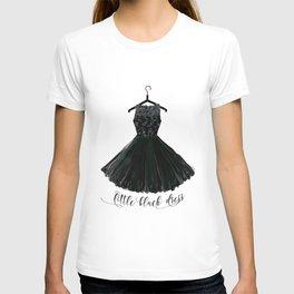 Little black dress on a hanger T-shirt