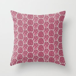 Pink Matter Throw Pillow