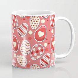 Cute colorful easter egg pattern Coffee Mug